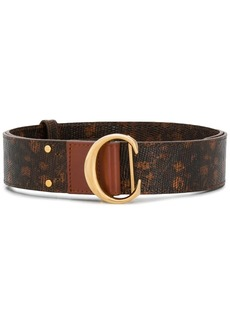 Chloé lizard-effect belt