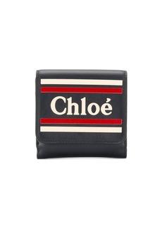 Chloé logo bi-fold wallet
