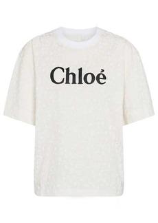 Chloé Logo cotton-jersey T-shirt