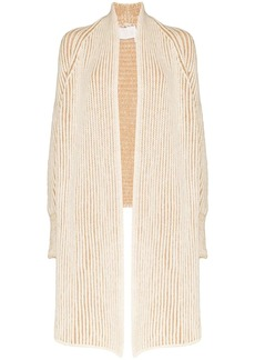 Chloé long knit scarf cardigan