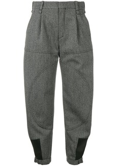 Chloé loose cargo trousers