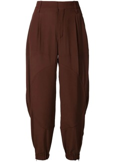 Chloé loose flared trousers