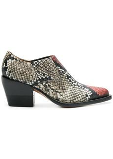 Chloé low cut chelsea boots