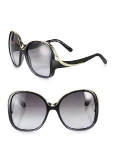 Chloé Mandy 59MM Oversized Round Sunglasses