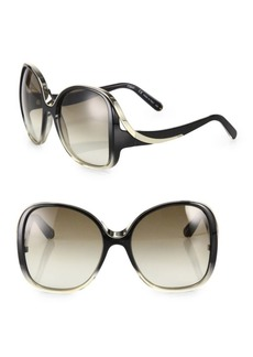 Mandy 59MM Oversized Round Sunglasses