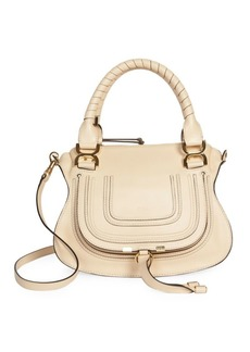 Chloé Small Marcie Smooth Leather Satchel