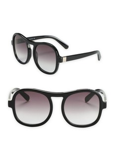 Chloé Marlow 59MM Oversized Aviator Sunglasses