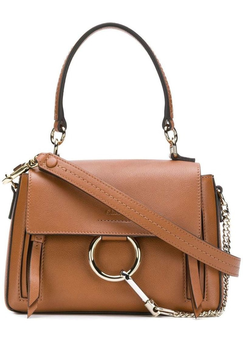 406ed0858fe6e Faye Day Small Grained Leather Shoulder Bag