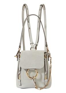 Chloé Mini Faye Suede Backpack