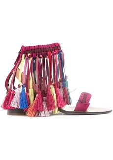 Chloé multi-tassel sandals