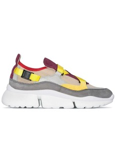 Chloé Multicoloured Sonnie colour block sneaker