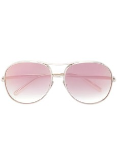 Chloé Nola blush sunglasses
