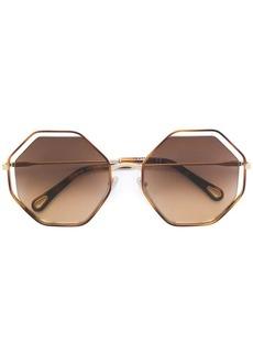Chloé octagonal frame sunglasses