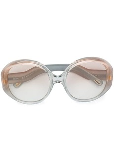 Chloé oversized round sunglasses