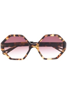 7ccb5b79caf7 Chloé Turtledove 62MM Oversized Round Sunglasses