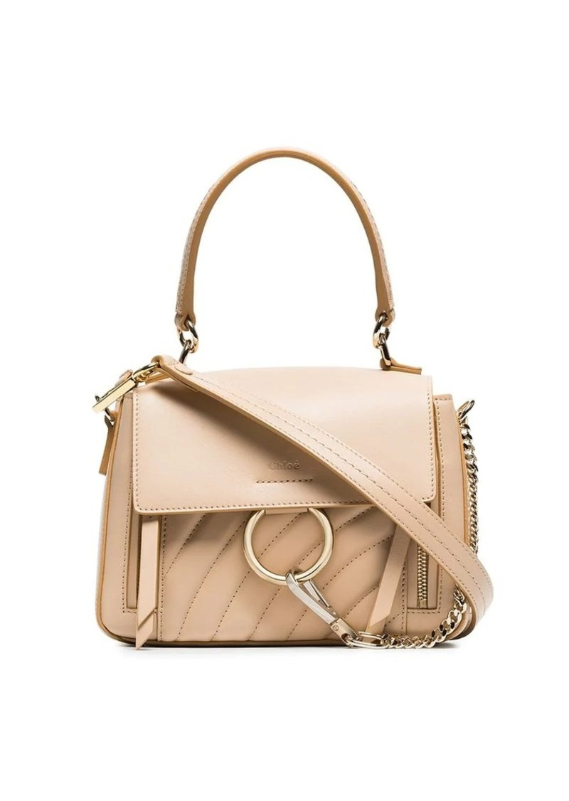 f1b2178789f Chloé pink faye day mini quilted leather shoulder bag | Handbags