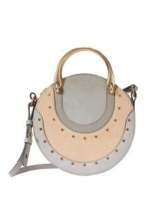 Chloé Pixie Mixed Look Circle Bag