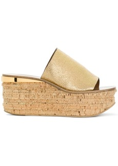 Chloé platform wedge sandals
