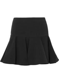Chloé Pleated Crepe Mini Skirt