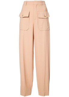 Chloé pocket embellished trousers