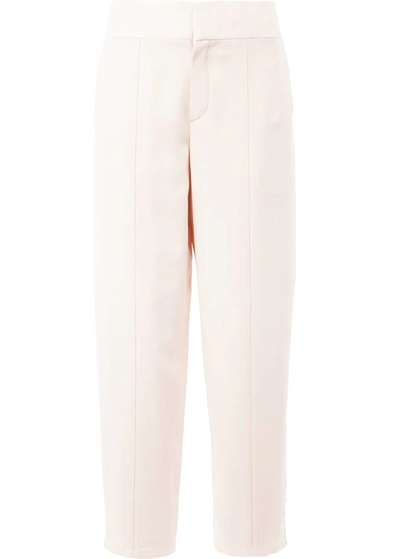 Chloé pom pom trim trousers