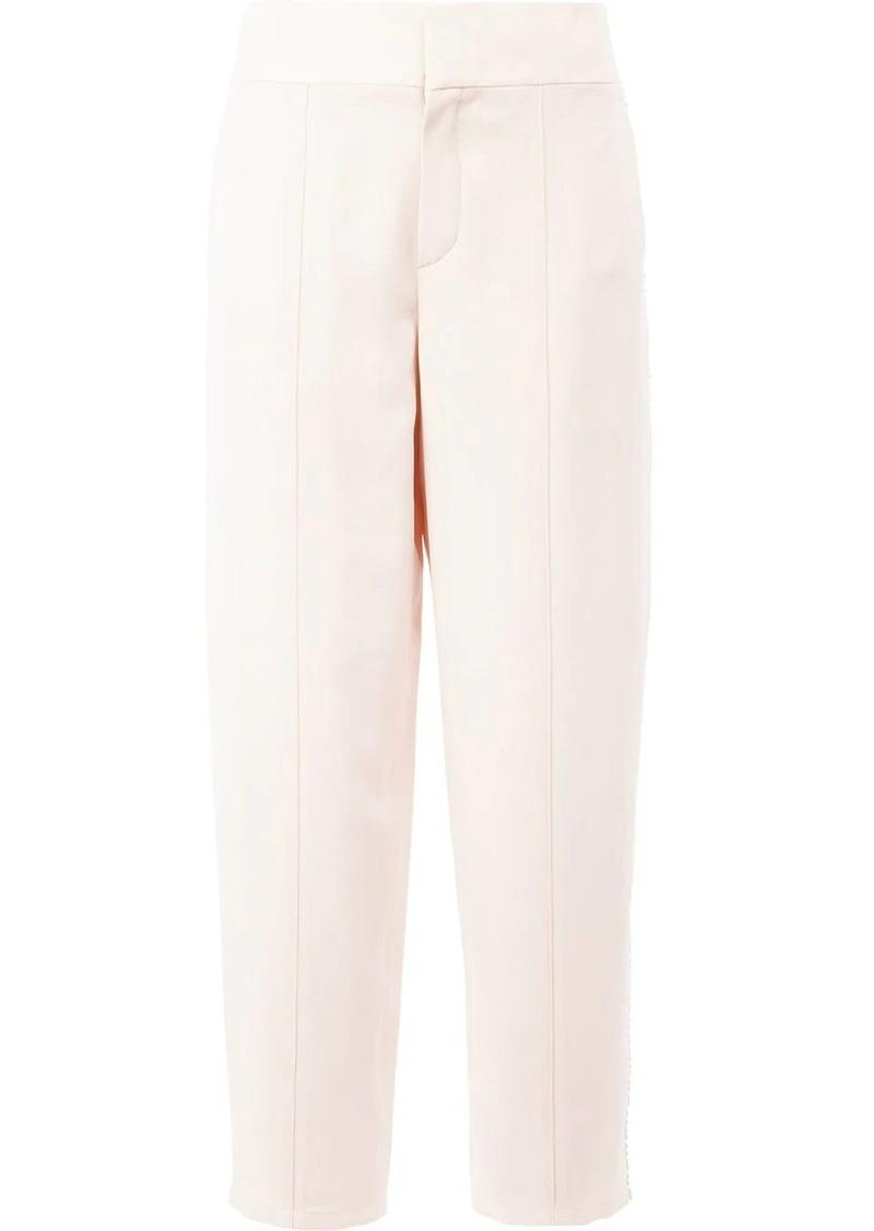 Chloé pom pom trim trousers