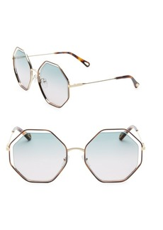 Chloé Poppy Octagon Sunglasses