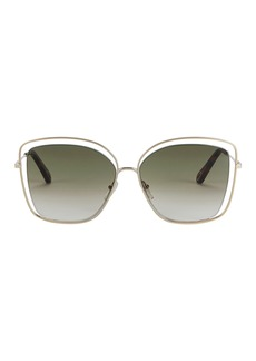 Chloé Poppy Square Sunglasses