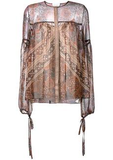 Chloé printed blouse