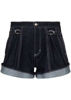 Chloé recycled denim shorts