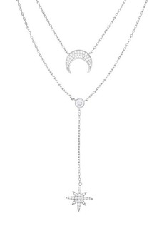 Chloé Rhodium-Plated Sterling Silver & Crystal Necklace