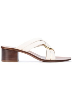 Chloé Rony crossover strap sandals