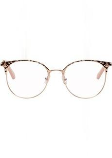 Chloé Rose Gold Horn Rim Glasses