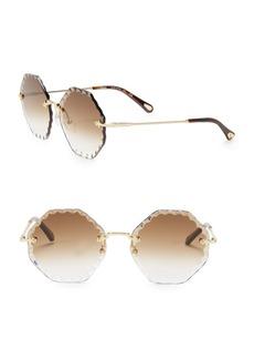 Chloé Rosie 58MM Octagon Sunglasses