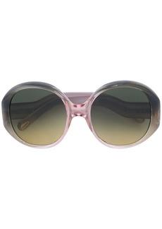 Chloé round frame sunglasses