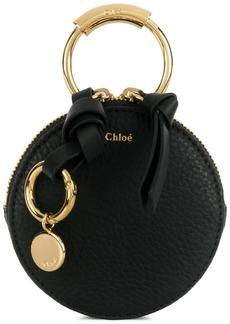 Chloé round zipped coin purse