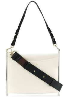 Chloé Roy metal fram handbag