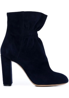 Chloé ruched ankle boots