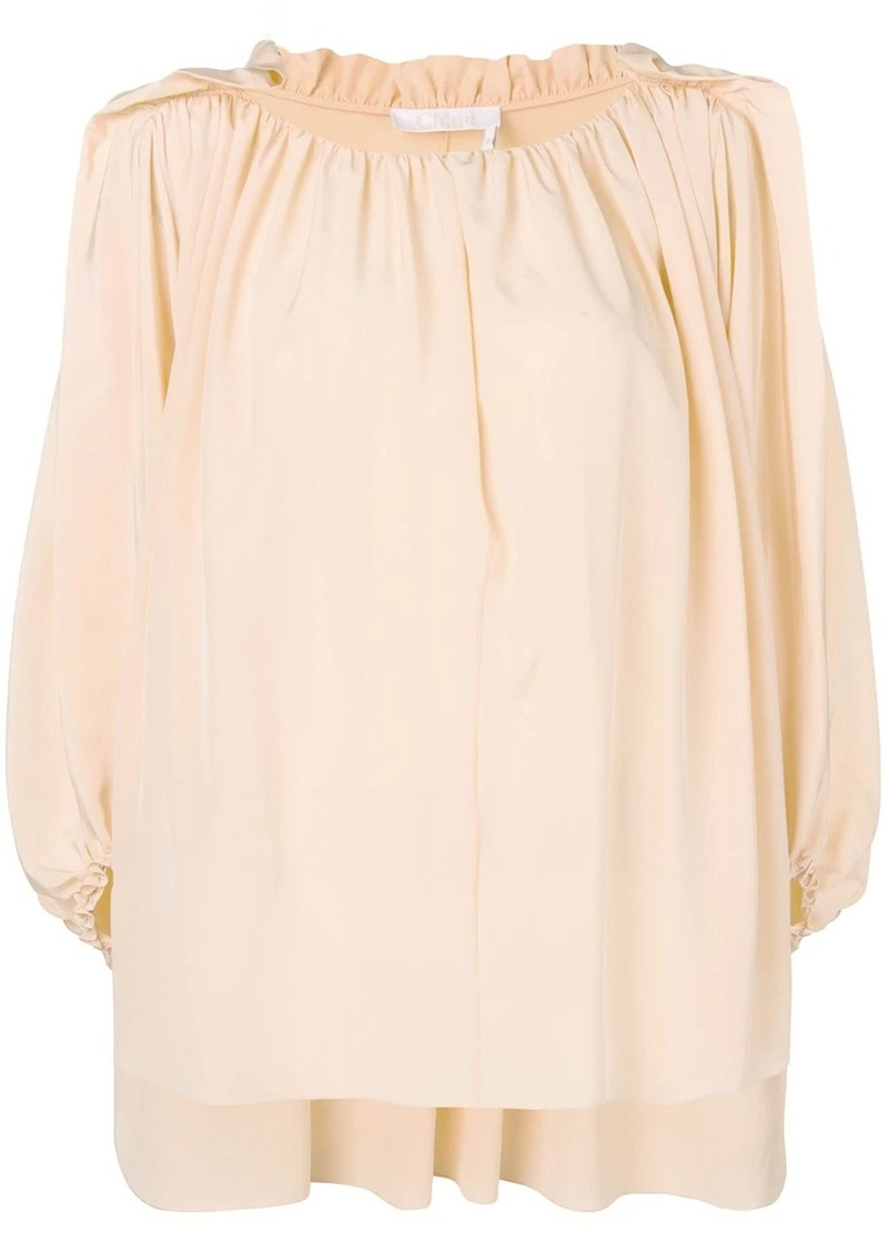 Chloé ruched loose top