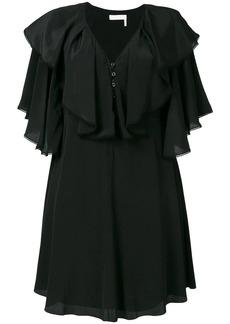 Chloé ruffle bib dress