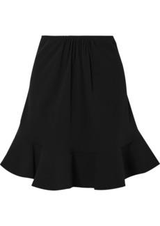 Chloé Ruffled Crepe Skirt