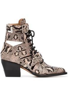 Chloé Rylee 60 Leather Ankle Boots