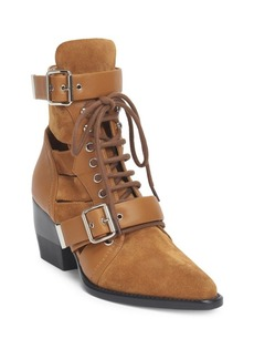 Chloé Rylee Leather Booties