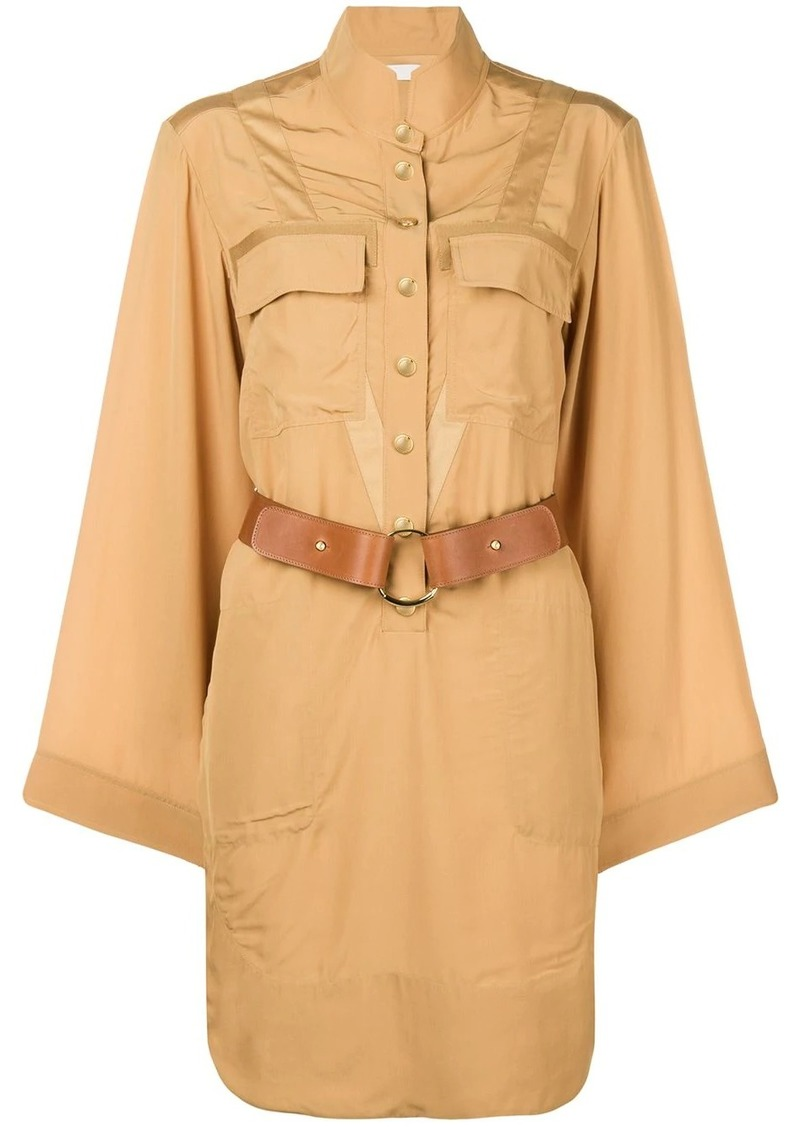 Chloé safari shirt dress