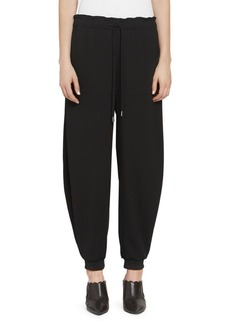 Chloé Satin Back Crepe Jogger Pants