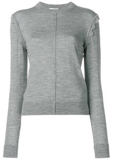 Chloé scallop shoulder sweater