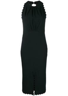Chloé scalloped midi dress