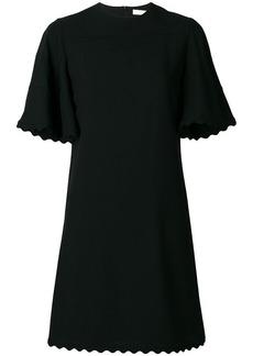 Chloé scalloped short dress