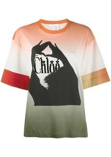 Chloé shadow-print T-shirt