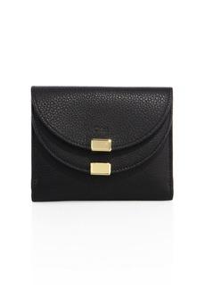 Chloé Georgia Square Leather Wallet